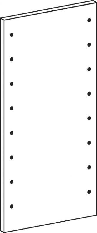 Bok plný - výška 82.6 cm