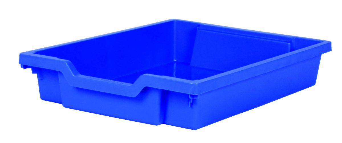 Plastová zásuvka SINGLE - modrá Gratnells