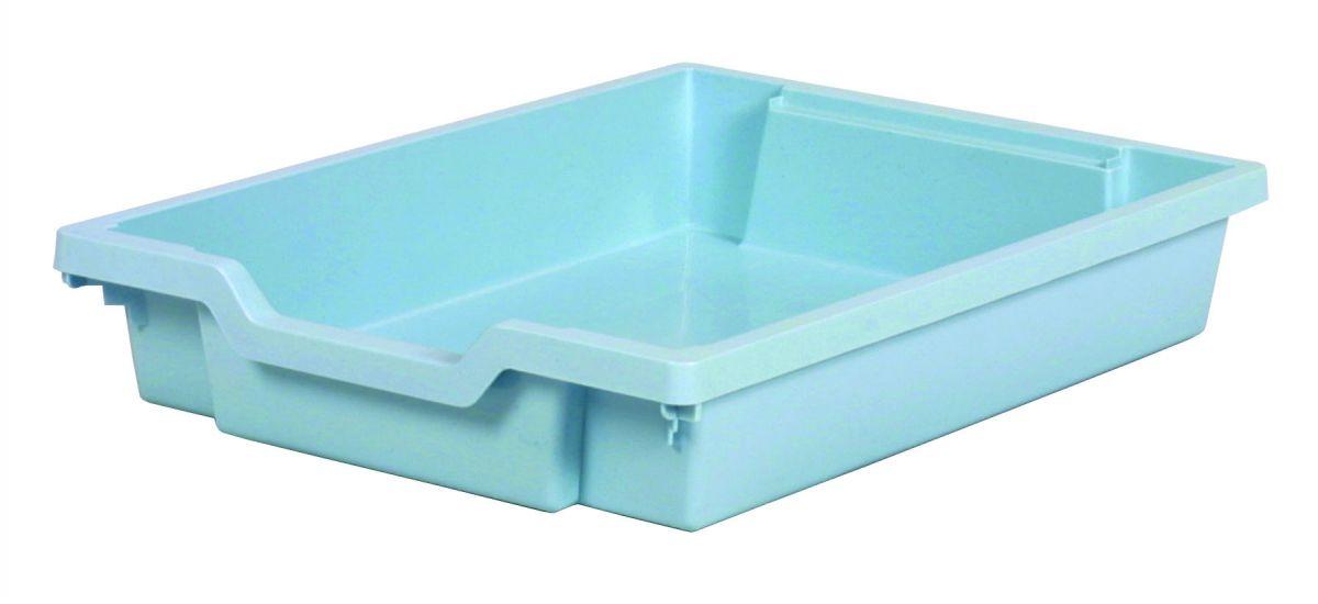 Plastová zásuvka SINGLE - pastelovo modrá Gratnells