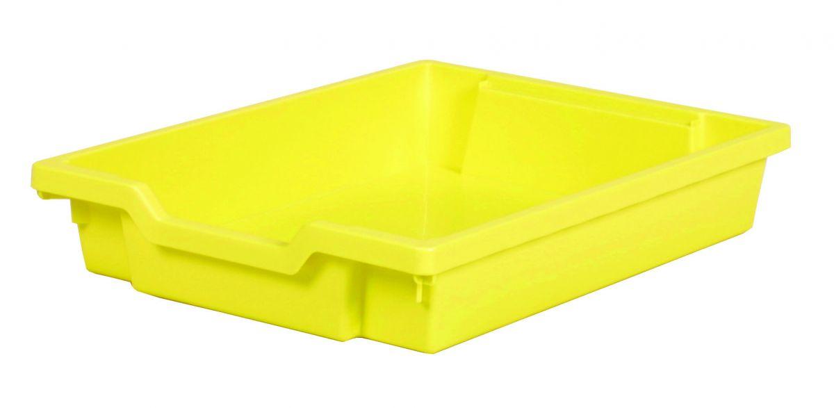 Plastová zásuvka SINGLE - pastelovo žltá