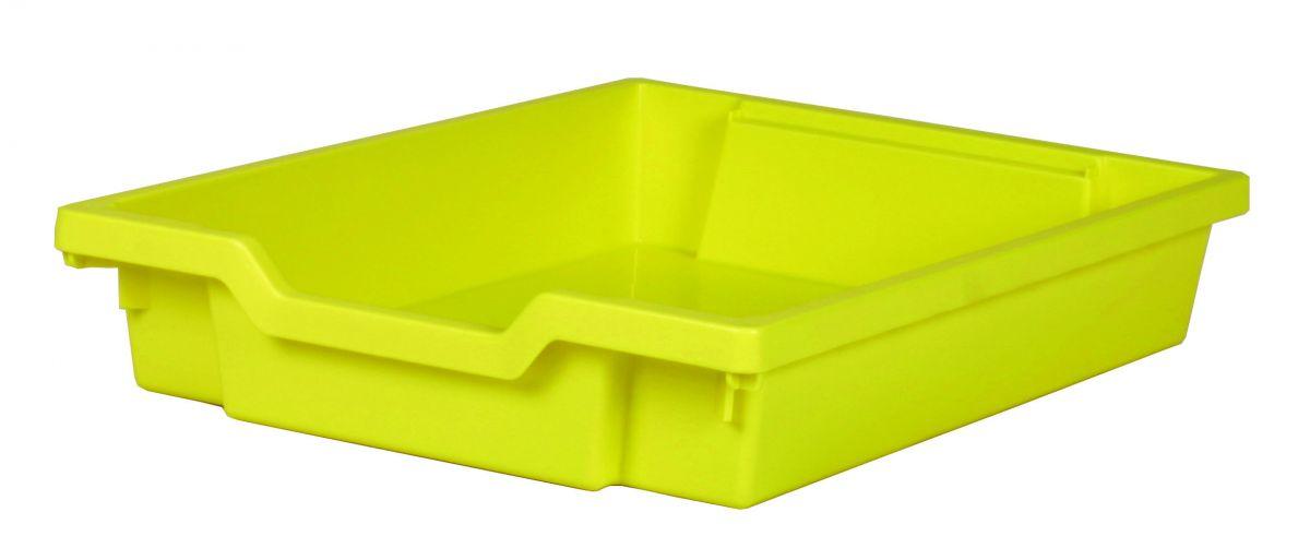 Plastová zásuvka SINGLE - žltá Gratnells