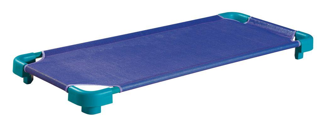 Stohovateľné lôžko /kov+plast/ 133x58x15cm