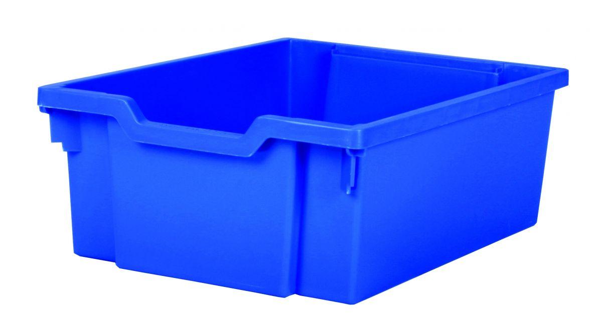 Plastová zásuvka DOUBLE - modrá Gratnells