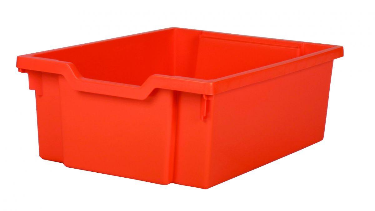 Zásuvka plast DOUBLE - oranžová