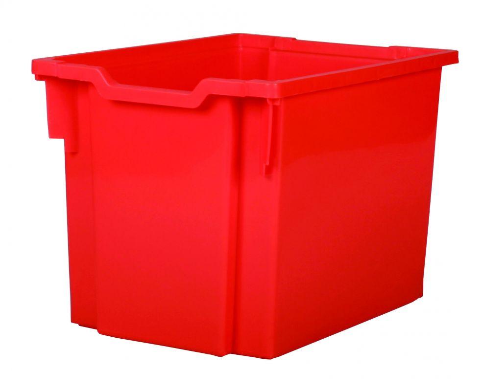 Zásuvka plast JUMBO - červená