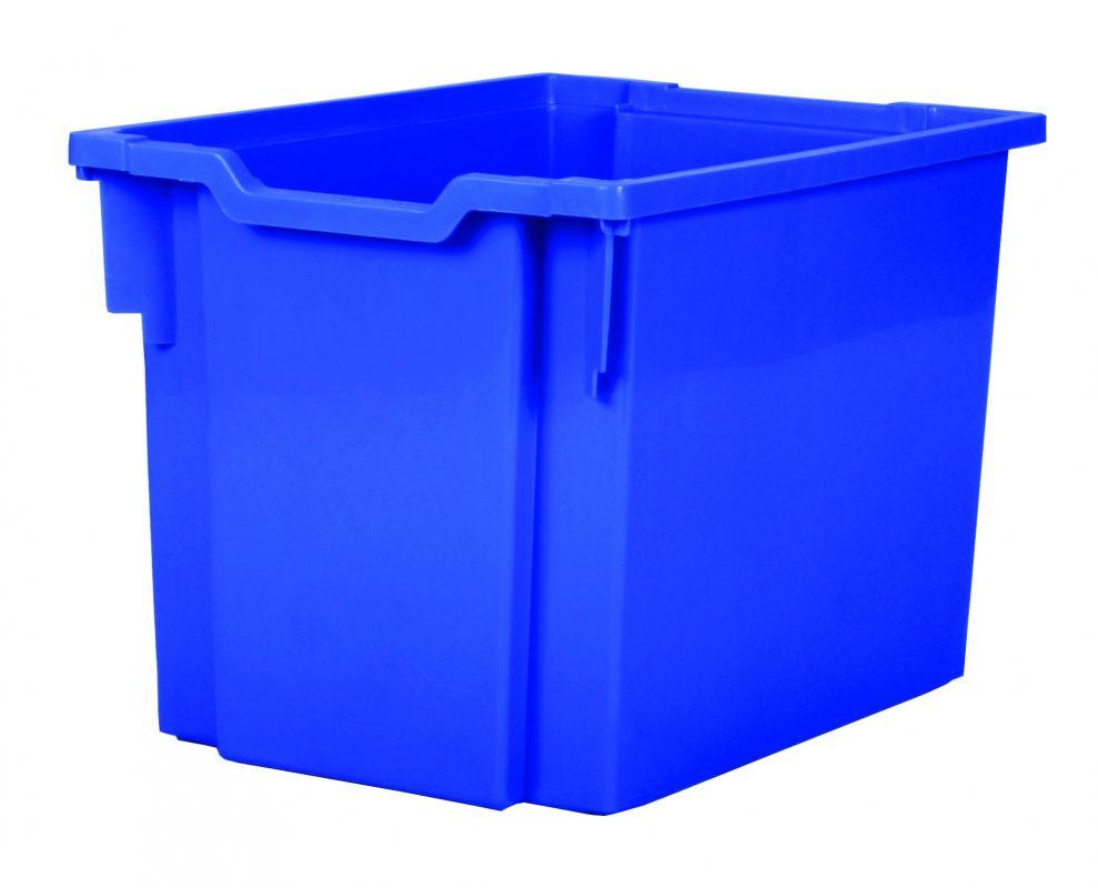 Plastová zásuvka JUMBO - modrá Gratnells