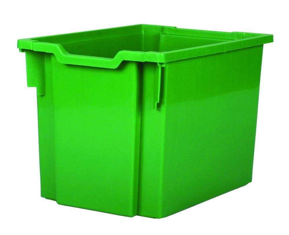 Plastová zásuvka JUMBO - zelená Gratnells
