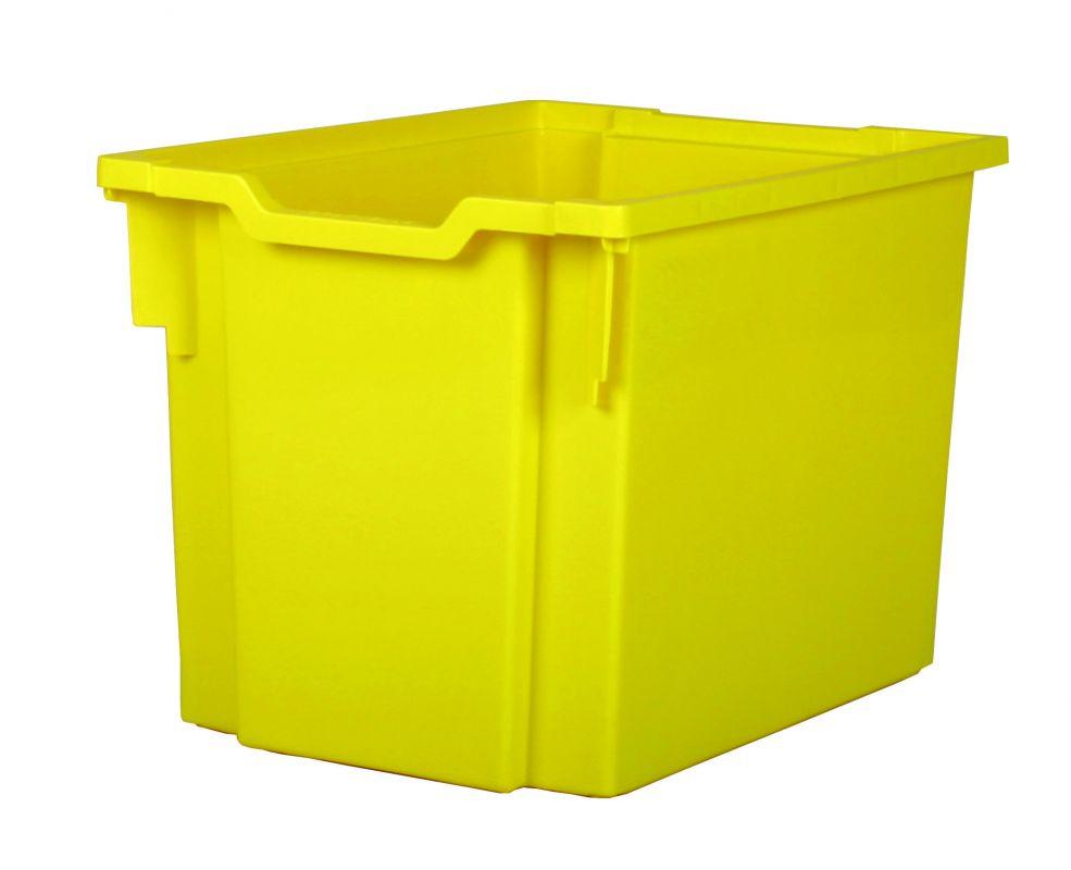 Plastová zásuvka JUMBO - žltá Gratnells