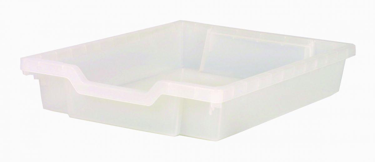 Zásuvka plast-SINGLE čirá Gratnells