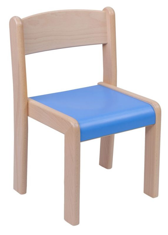 Stohovatelná židle VIGO - barevný umakartový sodák
