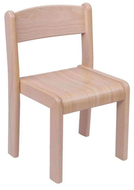 Stohovatelná židle VIGO - umakartový sodák dekor buk