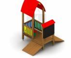 !_zobrazit detail_! - Domček s lavicou a tabuľou
