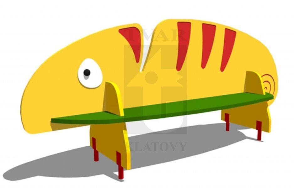 CHAM - Lavička Chameleon