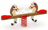 Pružinová dvojhojdačka Koník