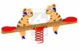 Pružinová dvojhojdačka Tigrík