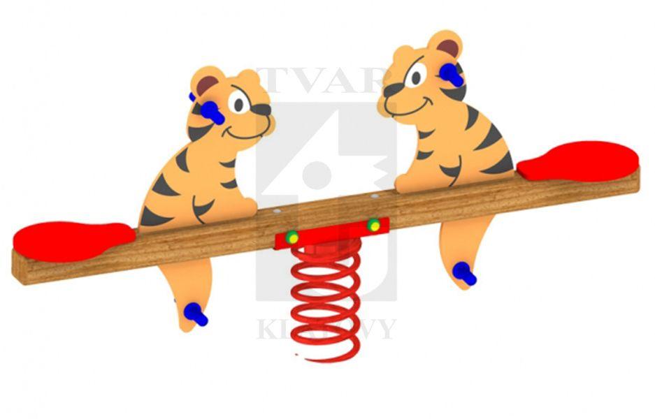 HG 4T - Pružinová dvojhoupačka tygřík