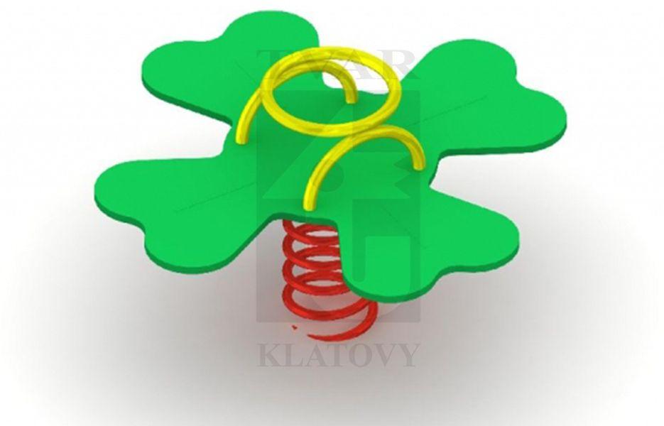 PR ST - Pružinová houpačka Čtyřlístek