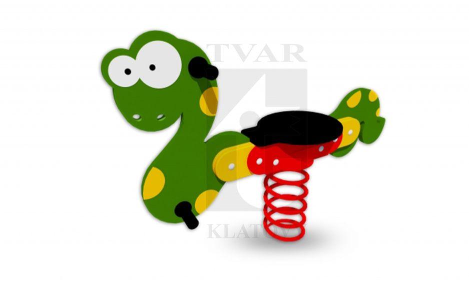PR HA - Pružinová houpačka Hadík