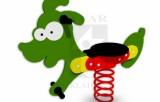PR PE - Pružinová houpačka Psík
