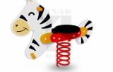 Pružinová hojdačka Zebra