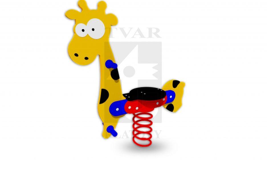 PR ZI - Pružinová houpačka Žirafa