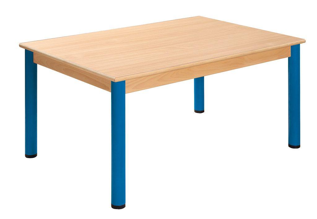 Stôl 120 x 80 cm / kovové nohy s rektifikačnou patkou
