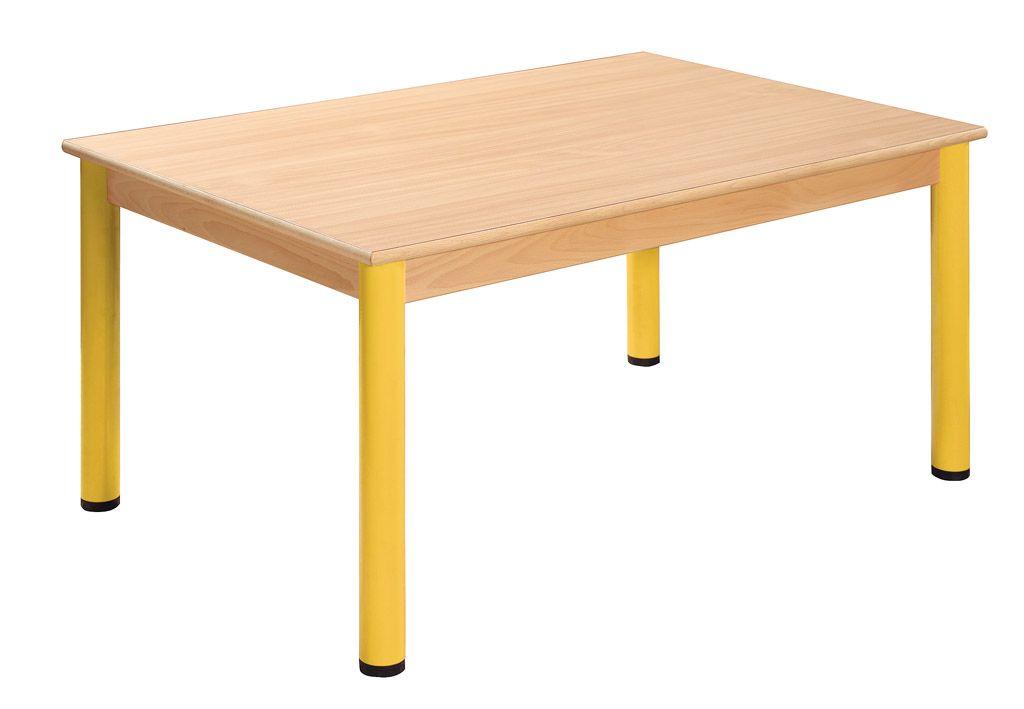 Stôl 180 x 60 cm / kovové nohy s rektifikačnou patkou