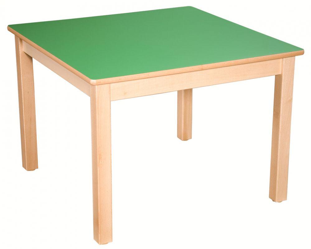 Čtvercový stôl 80 x 80 cm