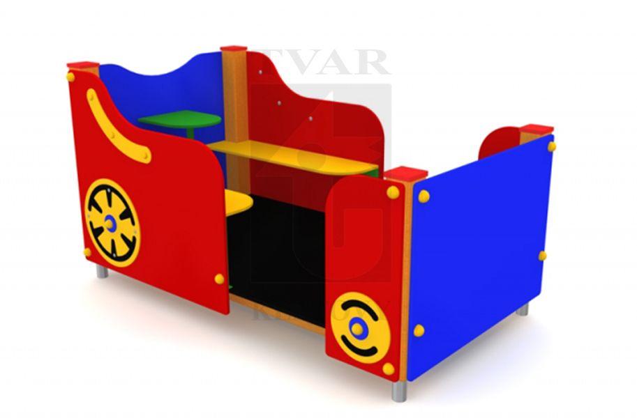 VAG 2 - Vagon bez střechy a s lavičkami