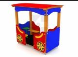 !_zobrazit detail_! - Vozeň so strechou a lavičkami