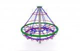 KOL STRO - Kolotoč stromeček s ocelovou konstrukcí a lany