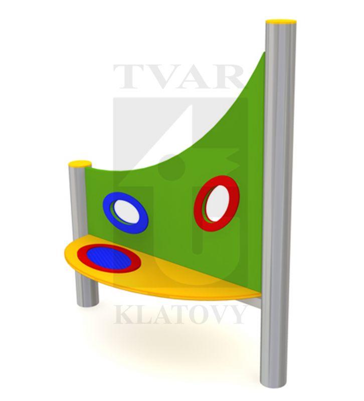 STOL SI - Stůl se sítkem na písek a malými okénky