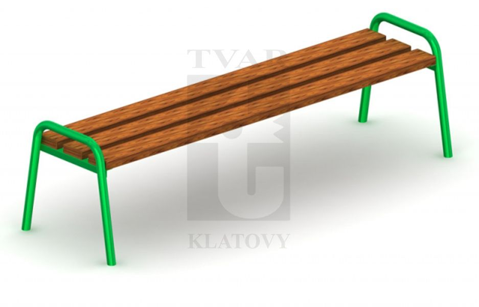 LAV 2 - Lavička bez opěradla