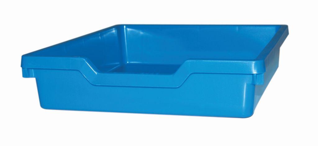 Plastová zásuvka N1 SINGLE - modrá Gratnells