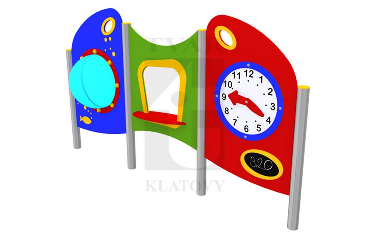 PLOT Elip 1 - Sestava s velkým oknem, hodinami a obchodem