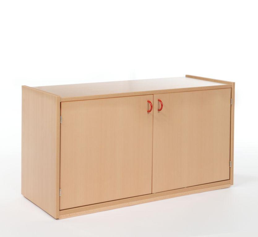 Nástavbová skrinka dvojdverová s 1 policí / hloubka 60 cm