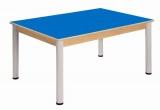 Stôl 120 x 80 cm / výškově stavitelné nohy 52 - 70 cm