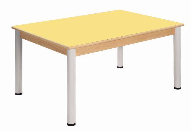 Stôl 80 x 60 cm / výškově stavitelné nohy 52 - 70 cm