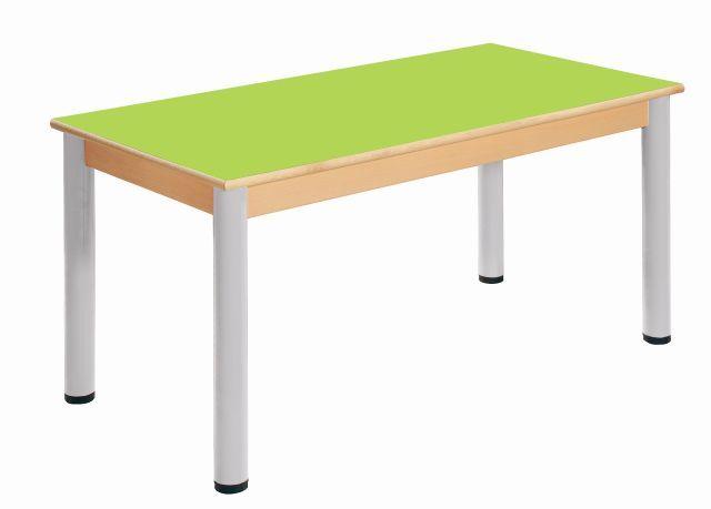 Stôl 120 x 60 cm / výškově stavitelné nohy 36 - 52 cm