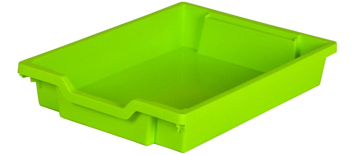 Plastová zásuvka N1 SINGLE - limetková Gratnells