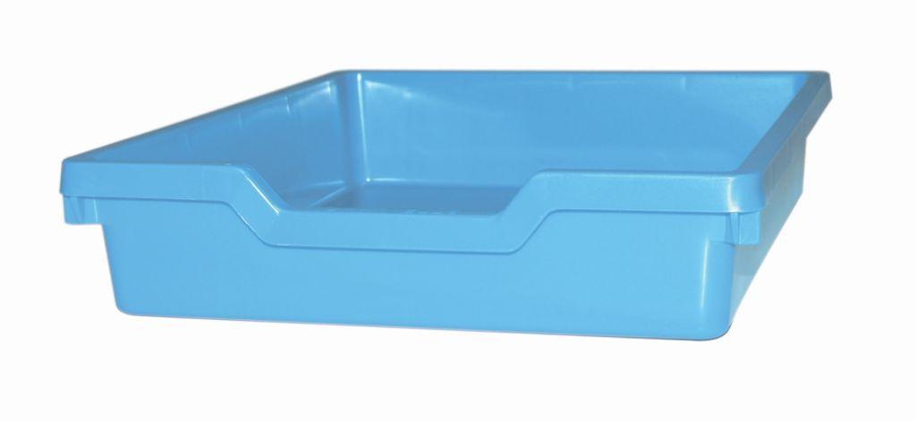 Plastová zásuvka N1 SINGLE - pastelovo modrá Gratnells