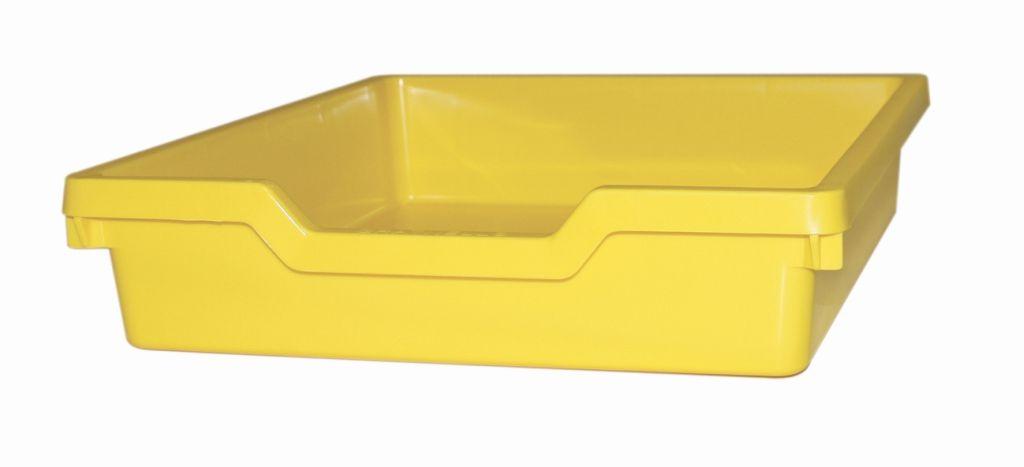Plastová zásuvka SINGLE - pastelovo žltá Gratnells