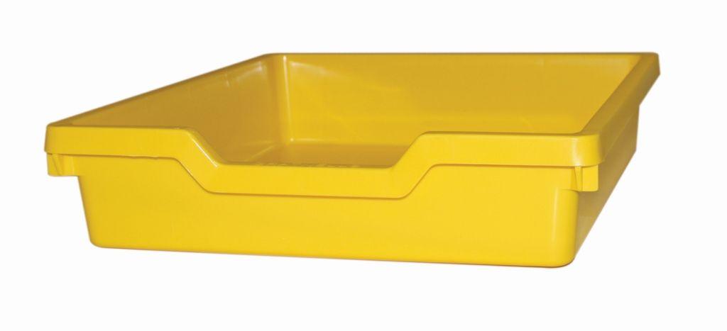 Plastová zásuvka N1 SINGLE- žltá Gratnells