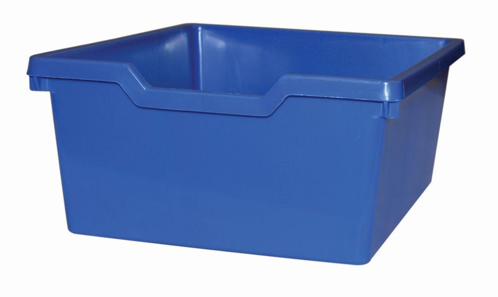 Plastová zásuvka N2 DOUBLE - modrá Gratnells