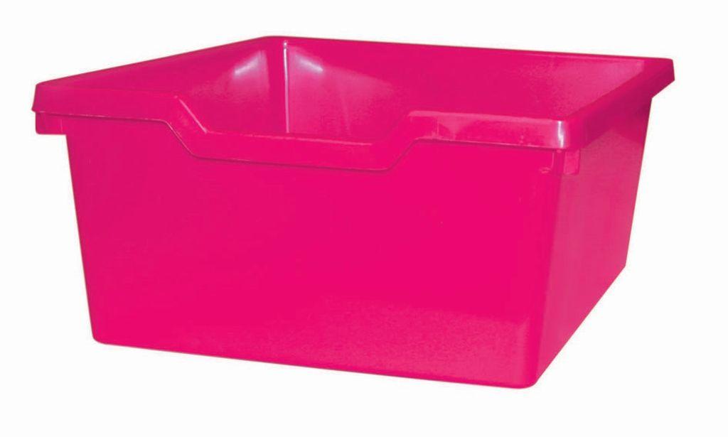 Plastová zásuvka N2 DOUBLE - ružová Gratnells