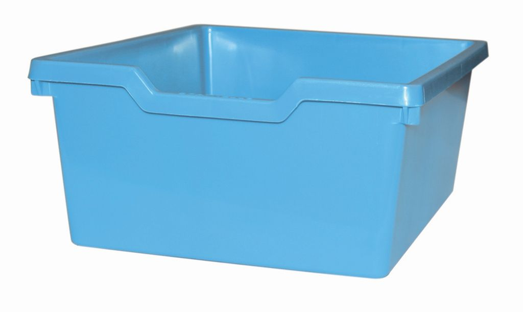 Plastová zásuvka N2 DOUBLE - svetle modrá Gratnells