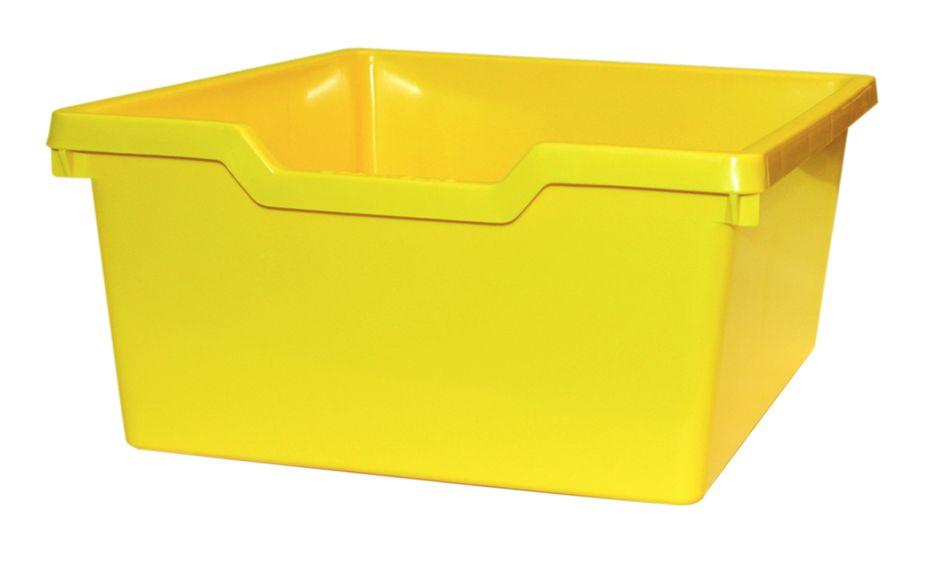 Zásuvka plast N2 DOUBLE - svetle žltá Gratnells