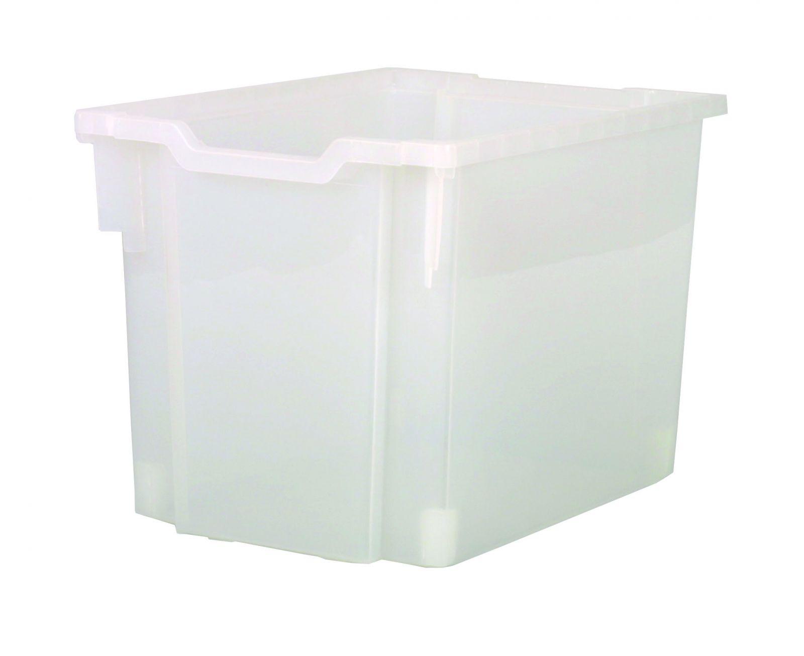 Plastová zásuvka N3 JUMBO - čirá Gratnells