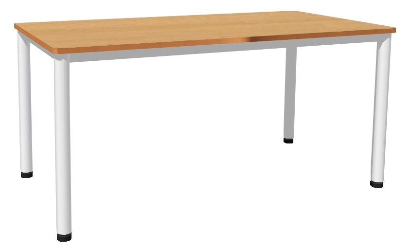 Stôl 160 x 80 cm / kovová podnož, umakart