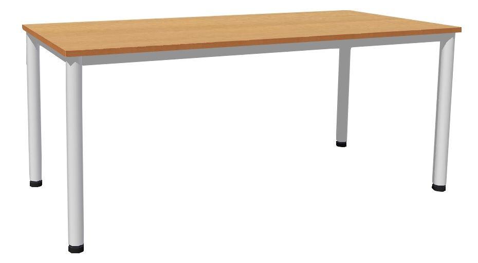 Stôl 180 x 80 cm / kovové podnož, lamino
